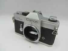 Canon TLB 35mm Film SLR Camera Body - Chrome Body Only - Tested