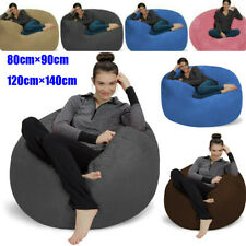 Bean Bag Chairs By Cozy Sack Premium 4.6ft/3ft Cozy Memory Foam Chair Lounger US