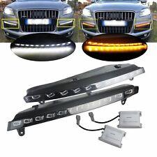 1 paire Ampoules LED Clignotant feux de circulation diurne lampe Audi Q7 2007+