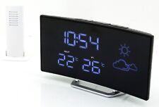 Soundmaster FUR100 UKW Uhrenradio Dual-Alarm Funkuhr Wetterstation Außensensor