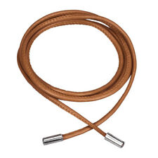 Women Thin Skinny Leather Waist Belt Waist Waistband Strap Decor Brown Q8F2