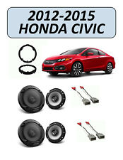 Fits Honda Civic 2012-2015 Factory Speaker Replacement Combo Kit, PIONEER