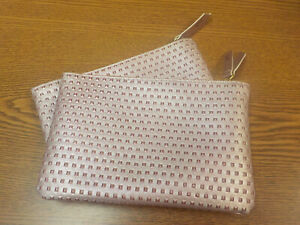 2x  Ipsy Glitzy Pink Bags for~Gifts~ Friends~ Special Occasions