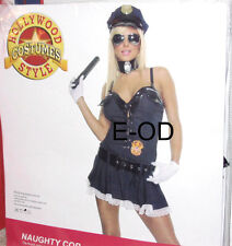 Naughty Cop Sexy Costume #16030 Roleplay Womens Small S/M New in Package