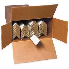"2 CASES 40 Heavy Duty White Edge Protectors  72x2x2"" 2"" x 2"" x 72"" EP2272225BX"