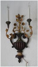 Italian Wood/Iron Sconce Palladio Neoclassical Gilt Hollywood Regency Vintage