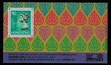 Hongkong MiNr Block 28 Briefmarkenausstellung Bangkok 1993 postfrisch **