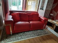 Violino Leather Living Room Sofas, Armchairs & Couches for