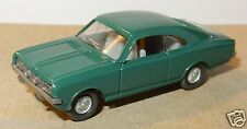 RARE MICRO WIKING HO 1/87 OPEL COMMODORE VERT FONCE intérieur GRIS 84