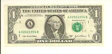 FEB 2, 1954.... BIRTHDAY NOTE ... 2003A $1  A 0202 1954 B .... 02-02-1954
