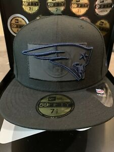 """New England Patriots New Era 59Fifty """"St Flag Reflective"""" Collection Fitted Hat"""