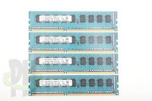 Apple OEM Hynix Nanya Miccron Mac Pro 5,1 Server Ram 8GB (2gb x 4) PC3-10600 ECC