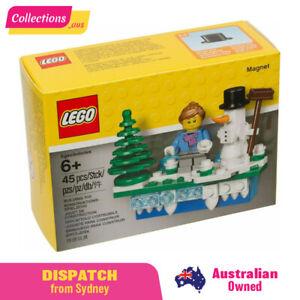 GENUINE LEGO Seasonal - Iconic Holiday Magnet - 853663 - Fast FREE Shipping!!