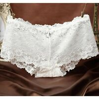 Women Sexy Lace Underwear Boxer Briefs Panties Knickers Lingerie Thongs G-string