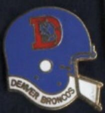 Denver Broncos enamel lapel badge
