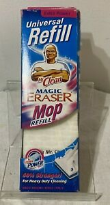 Mr Clean Magic Eraser Extra Power Mop Refill Universal Refill New in Box