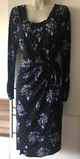 M&S Collection Stunning Floral Wrap Dress Spring Wedding Etc Size 14 BNWT NEW.
