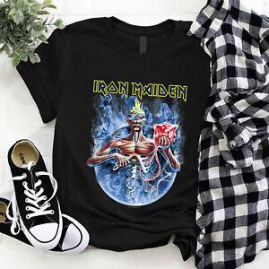 Iron Maiden Seventh Son Of Seventh Son Eddie Fan Gift Unisex T Shirt S-5XL Black