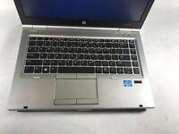 HP EliteBook 8460p Laptop / i5 2.5GHZ /  4GB DDR3  Windows 10 / Battery TESTED