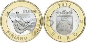 Finlande 5 euro 2013 - Province Karelia - Barrage Imatra UNC
