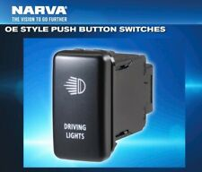 Narva OE Style Toyota Switch Push Button DRIVING LIGHTS *Hilux Cruiser RAV Prado