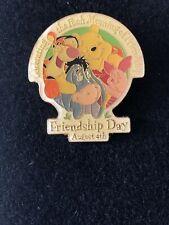 Vintage Disney Winnie The Pooh Pin Friendship Day