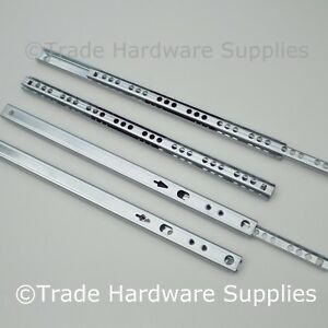 Drawer Runners Groove Ball Bearing 17mm All Sizes
