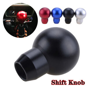 Round Black Universal Performance Manual Transmission Gear Knob Ball Shifter