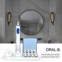 Braun Oral-B Electric Toothbrush Free Stand Charger Replacement Head Holder xura