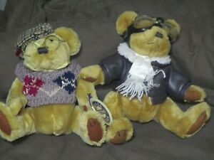 brass button bears collection of 14 Look at pictures