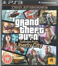Grand THEFT AUTO: episodios de Liberty City Sony PS3 18+ juego de acción