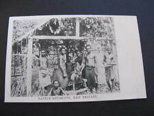 Native Students New Britain PNG Postcard Papua