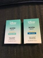 Lot of 2 Disney Resorts H20 Sea Salt Soaps - 1 Bath, 1 Facial -42g/1.5 oz H2O+