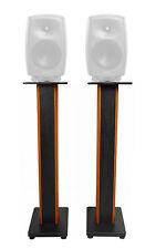 "Rockville 36"" Studio Monitor Speaker Stands For Genelec 8350A Monitors"