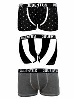"""Boxer Uomo Juventus Official Cotone Elasticizzato Confezione Mista 3 Pezzi """"J"""""""