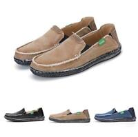Espadrilles Mens Slip On Casual Canvas Outdoor Flat Lightweight Sneakers Shoes
