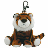 TY Beanie Baby - STRIPEY the Tiger ( Metal Key Clip ) (4 inch) - MWMTs