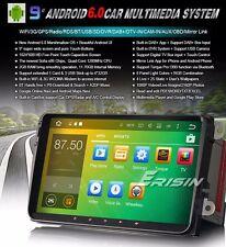 "AUTORADIO Touch Android 6.0 9"" Vw golf passat Polo Navigatore Comandi Volante SD"