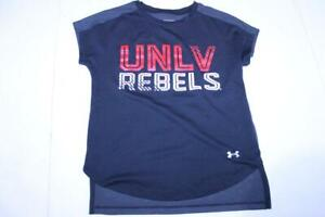Youth Girls UNLV Rebels YXS Athletic Shirt Under Armour
