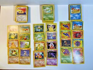 Base Set, Fossil, Jungle -  111 Pokemon Cards to Boost Collection - Pikachu WOTC