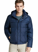 Marc New York Mens Arctica Hooded Down Fill Puffer Jacket XX-Large Navy Blue