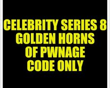 Celebrity Series 8 Golden Horns of Pwnage CODE ONLY