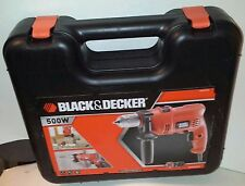 black and decker tools. black \u0026 decker kr504cresk 500w drill kitbox *** keyless chuck bnip rrp £ and tools