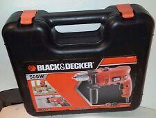BLACK & DECKER KR 504 CRESK 500W Trapano & STAK *** Keyless Chuck NUOVO con confezione RRP £ 52.00