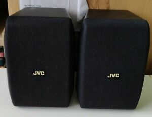 JVC Speaker System SP - X20 rarely used. Surround Right and Left Speakers