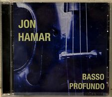 Jon Hamar Basso Profundo Solos & More Bass Guitar CD Nice Disc Jazz Experimental