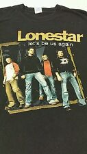 Entertainment Memorabilia Country Music Concert Mens T-Shirt sz Xl: Lonestar