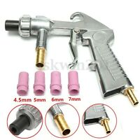 Sandblaster Gun Air Siphon + 4pcs( 4mm/5mm/6mm/7mm ) Ceramic Nozzles Abrasive