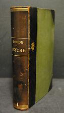 Rohde – Psyche - Seelencult und Unsterblichkeitsglaube der Griechen - 1907