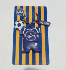 TIGER BEER Key Chain FC JERSEY Keychain Blue AWAY SHIRT Malaysia 2010 Rubber